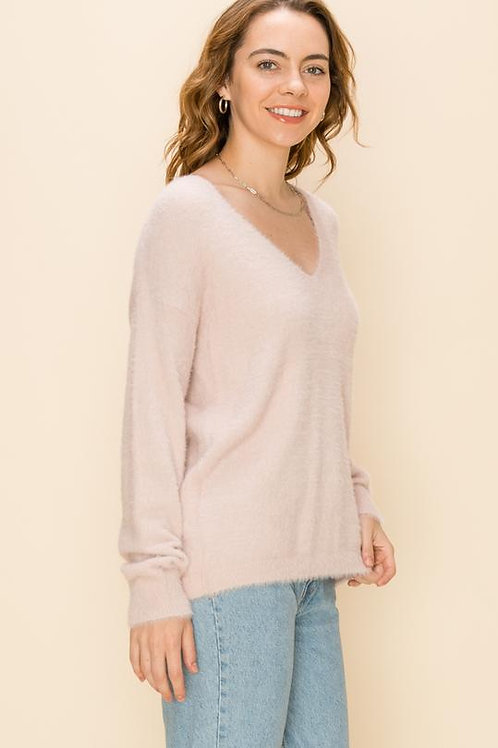 Carolyn Furry Sweater