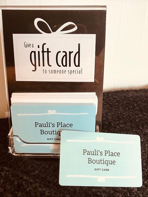 Pauli's Place Gift Card