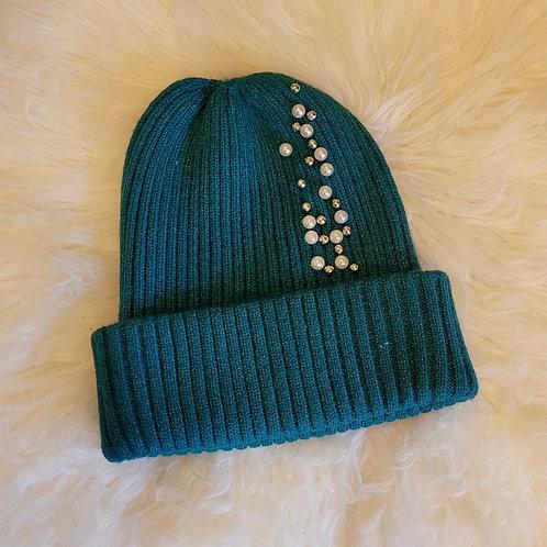 Jeweled Beanie Hat