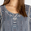 Thumbnail: Johnny Was Grey Embroidered Jurnee Top