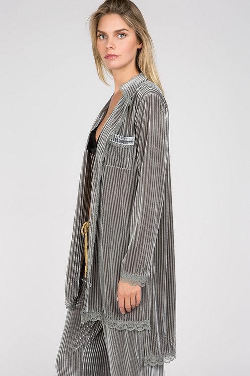 Sammi Velvet Nightshirt/Robe