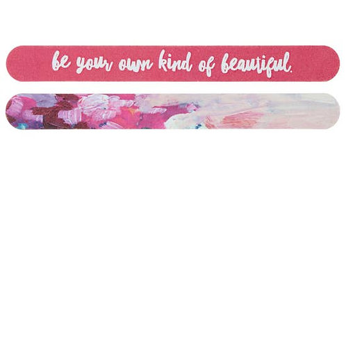 Be Your Own Kind Of Beautiful Nail File