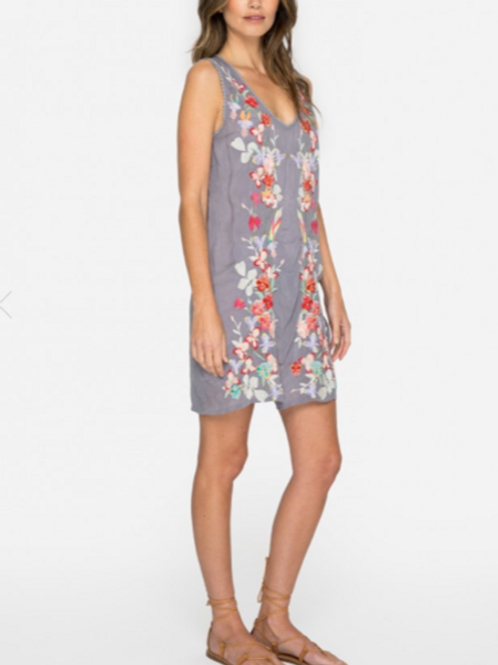 Johnny Was Embroidered Tunic Dress