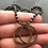 Thumbnail: Double Brass Ring Men's Necklace