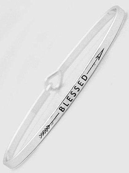BLESSED Bangle Bracelet
