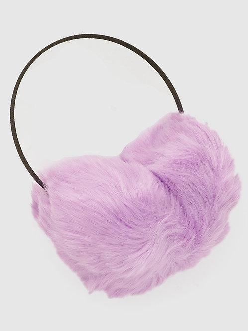 Pom Pom Faux Fur Ear Muffs