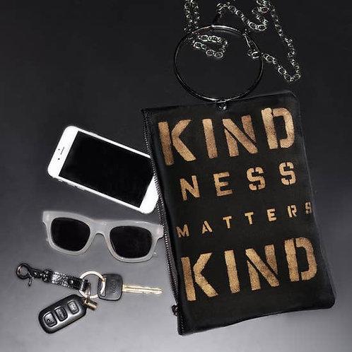 Kindness Matters Handpainted Crossbody