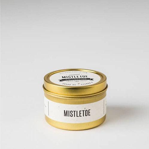 Mistletoe Travel Tin Candle - 4oz