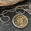 Thumbnail: Old Spanish Coin Necklace