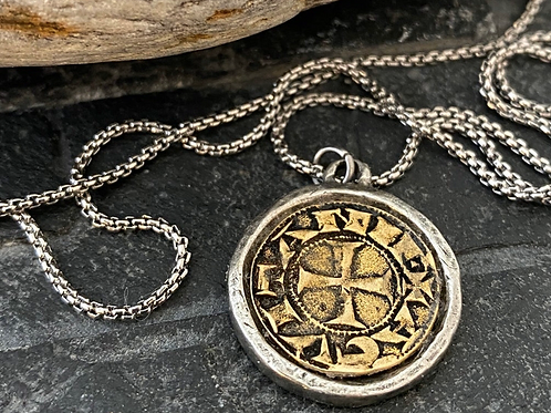 Old Spanish Coin Necklace