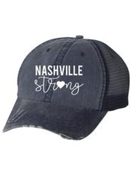 Nashville Strong Baseball Cap - 2 colors