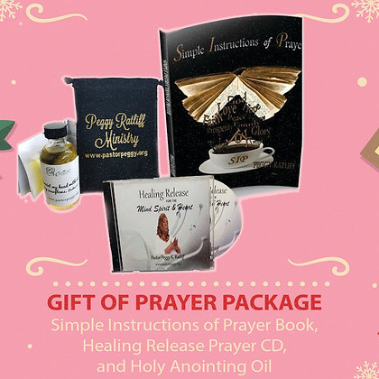 The Gift Of Prayer Package
