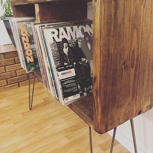 Retro Record Stand