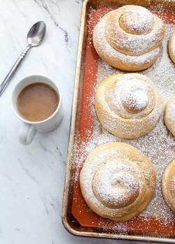 Pan de Mallorca (sweet bread)