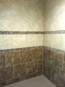 two tone shower