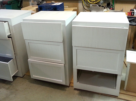 husband's cabinets