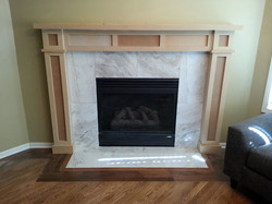 OP Fireplace - After