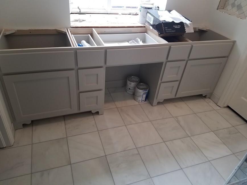 marble bath vanity