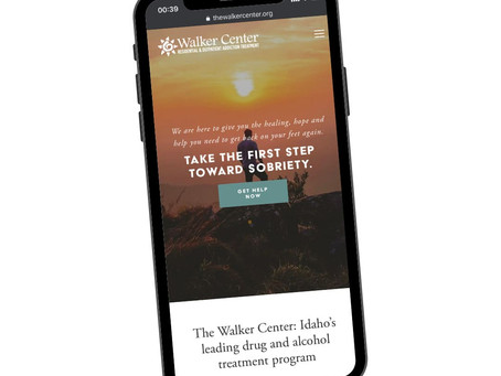 Drug & alcohol treatment website redesign
