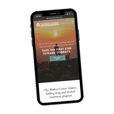 Drug & alcohol treatment website redesign
