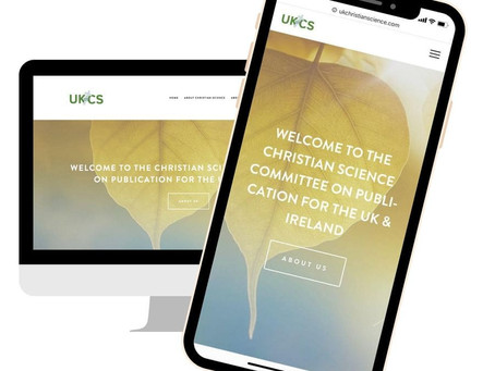 UKCS new website design