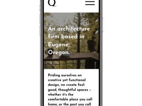 Architecture firm website design