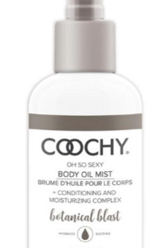 Coochy Body Oil Mist 4 oz - Botanical  Blast
