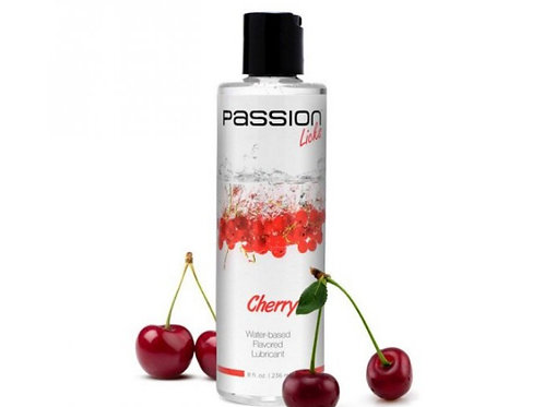 Passion Licks Cherry Water Based Flavored Lubricant
