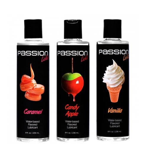 Passion Licks 3 Flavor Lube Pack Sweets