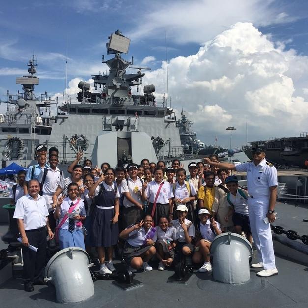 Visting Navy