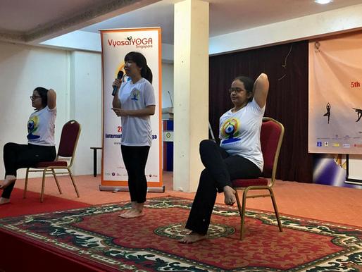 International Day of Yoga - 15 June 2019