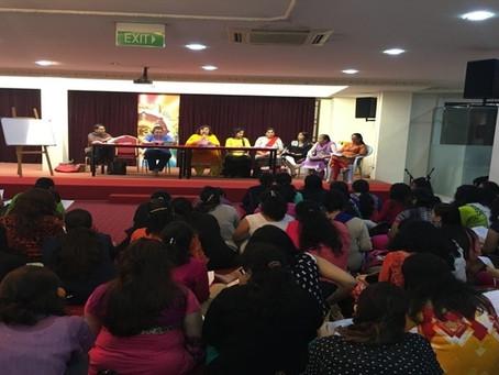 Teacher Gathering for a meeting