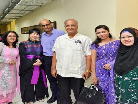 Our Principal Mr O.P Rai meeting Mr Tharman Shanmugaratnam