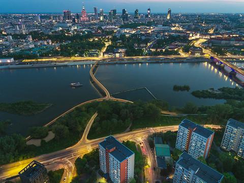 bridge night view