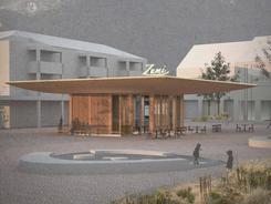 Pavillon in Zumikon