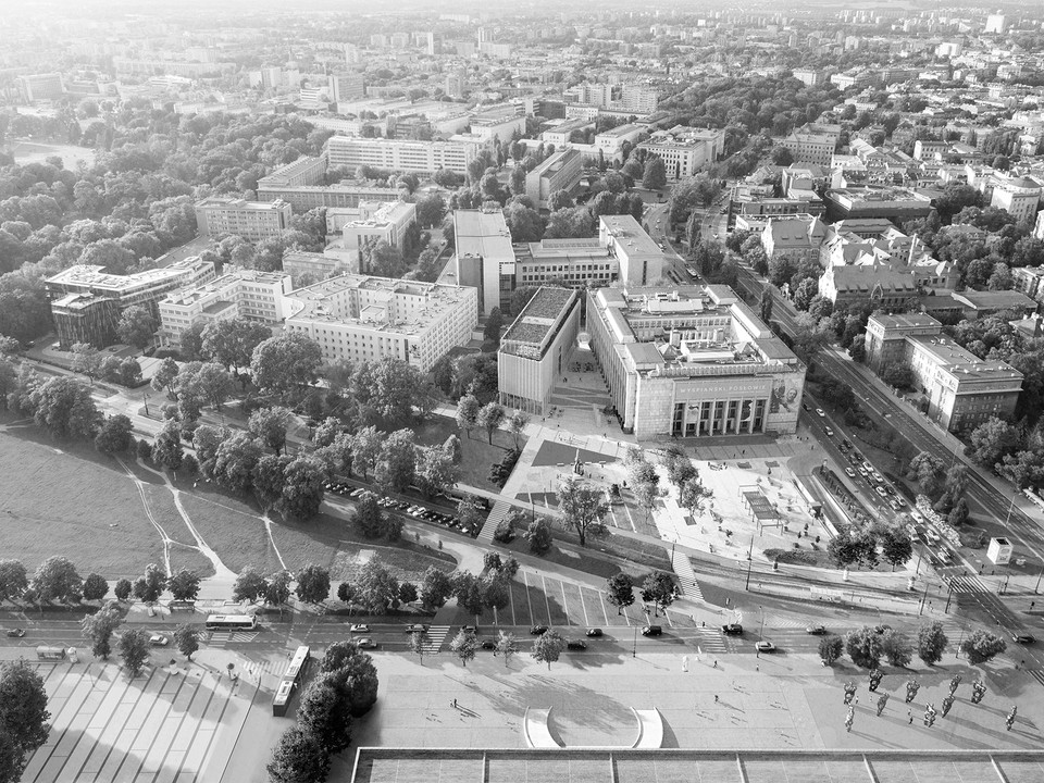 museum - aerial view