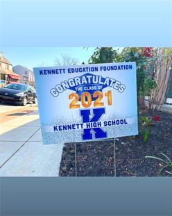 KEF congratulates Kennett High School 2021 Graduates