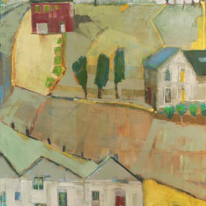 "Castle   Oil on Canvas   48""x36"""
