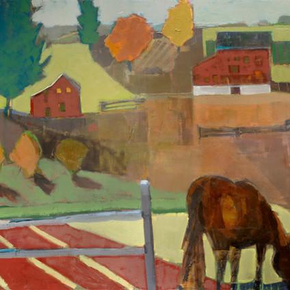 "Enjoy the Ride   Oil on Canvas   36""x48"""