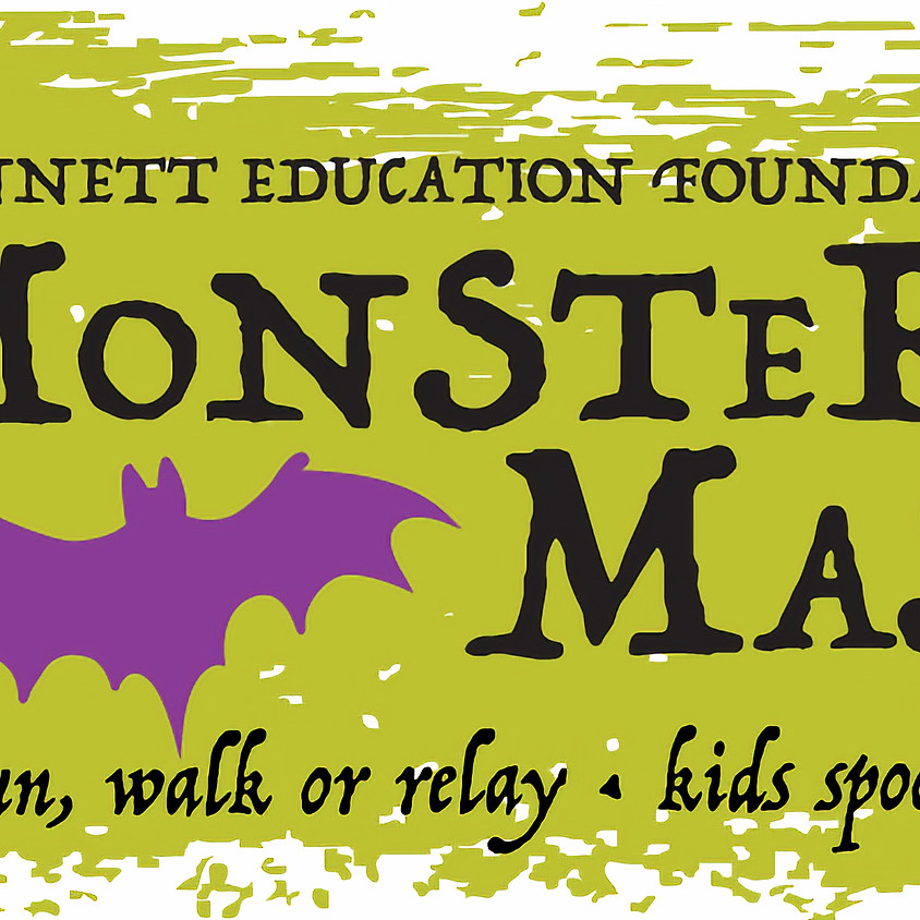Monster Mash 5k Walk, Run, or Relay and Kids Spooky Sprint - Rescheduled for Oct 27