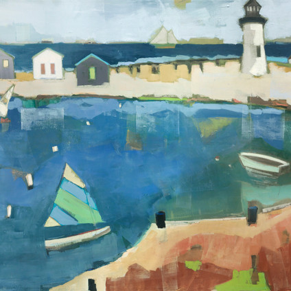 "Beacon   Oil on Canvas   40""x60"""