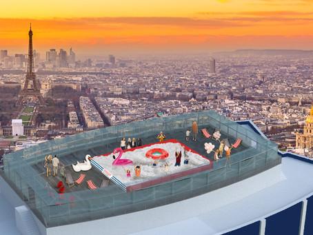 Une piscine à balles éphémère débarquesur la Tour Montparnasse !
