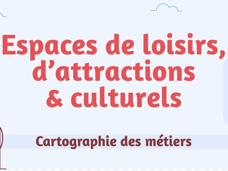 La première cartographie des métiers de la branche des espaces de loisirs, d'attractions et culturel