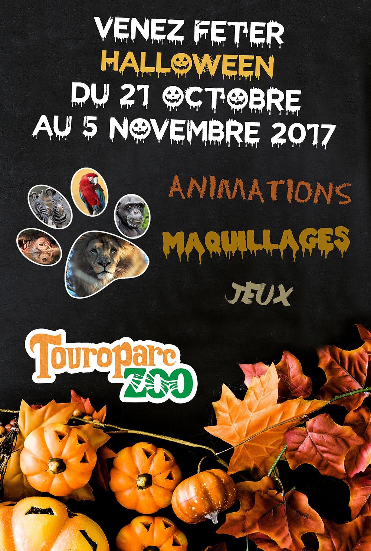 Halloween - Touroparc Zoo