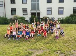 Training der Ballschule des TV Rheingönheim