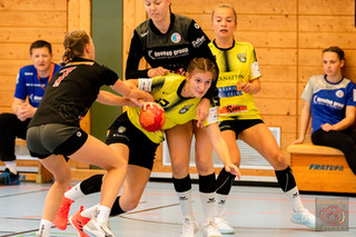 Fotos vom Spiel unserer weiblichen A-Jugend in Erlangen