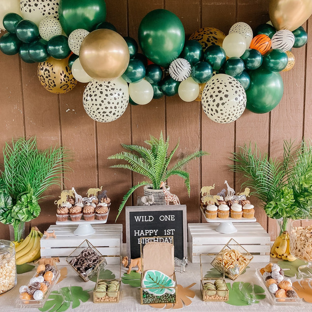Jungle Theme 1st Birthday