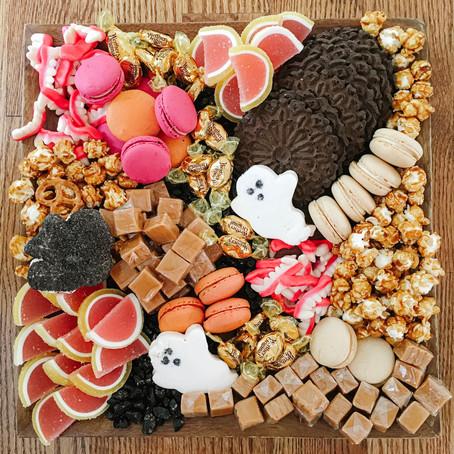 Halloween Inspired Grazing Boards