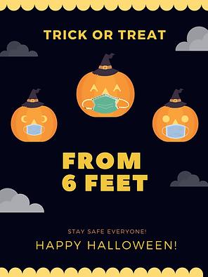 Purple Pumpkins Halloween Party Poster.p