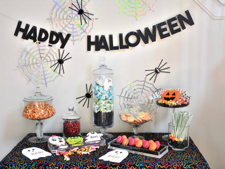 Halloween Mini Sweets Display